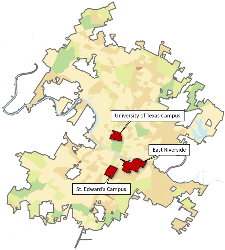 Access Gap Clusters Map
