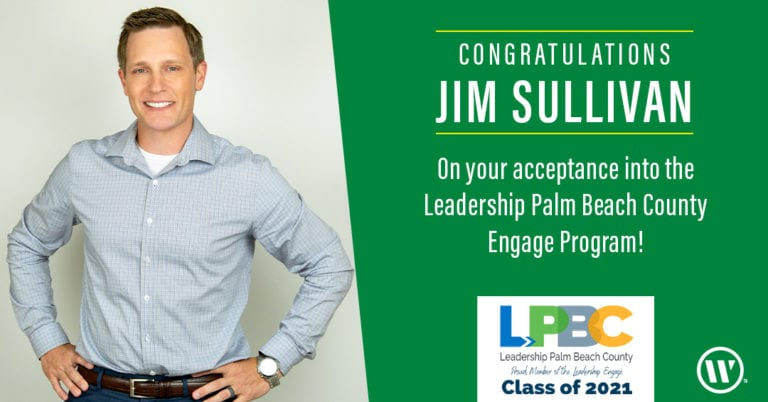 Jim Sullivan Leadership of palm beach announcement