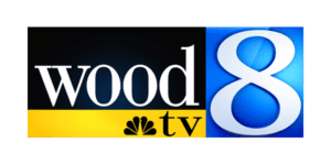Wood TV 8 Logo